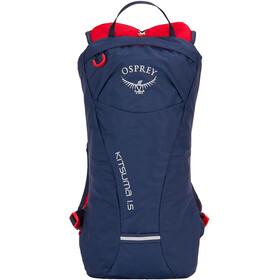 Osprey Kitsuma 1.5 Hydration Backpack Women, niebieski/czerwony